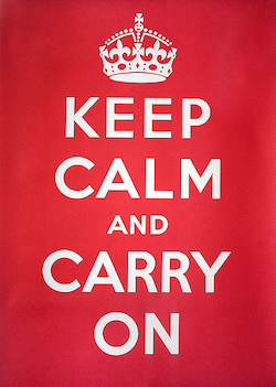 """""""Keep Calm and Carry On"""" Image"""