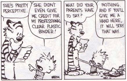 Calvin & Hobbes Teacher