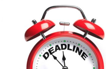 Image: Deadline clock